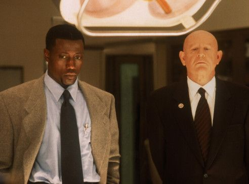 Secret Service-Chef Spikings (Daniel Benzali, r.)