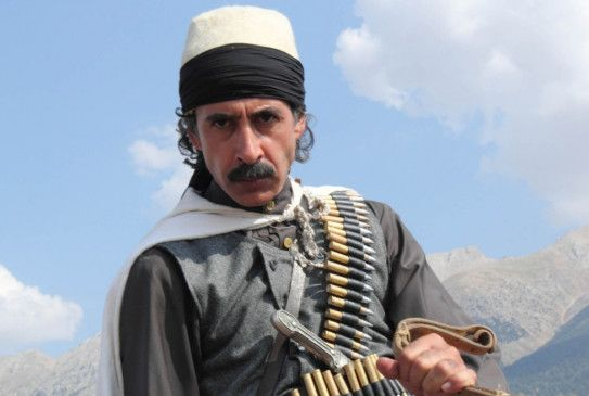 Said Nursi (Mürsid Aga Bag) ist bereit, für seine Überzeugungen zu kämpfen