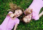 Eindeutig Zwillinge: Jana und Sophia Münster als Hanni und Nanni