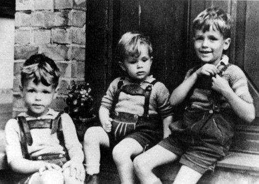 Der Paetzold-Nachwuchs in jungen Jahren