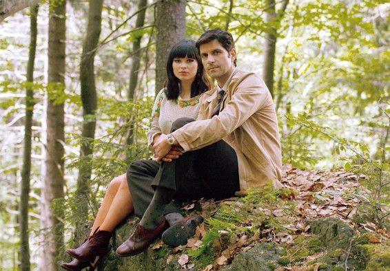 Beziehung ohne Zukunft? Melanie (Anna Fischer) und Carlo (Pasquale Aleardi)