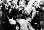 Vorfreude auf das gelobte Land - ein jüdisches Kind  kann die Abreise kaum noch erwarten
