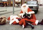 Zwei Weihnachtsmänner auf Abwegen ...