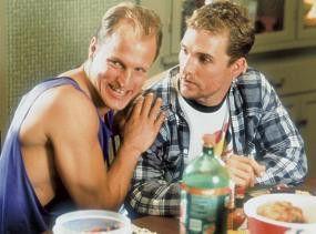 Bitte recht freundlich! Woody Harrelson und Matthew McConaughey