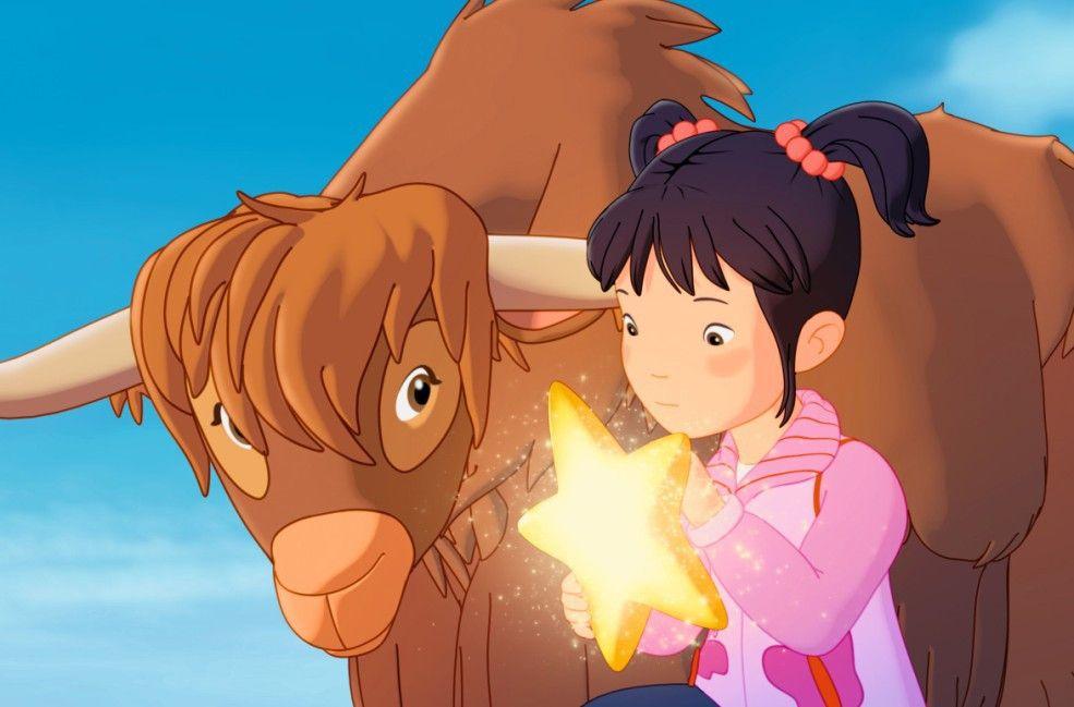 Das chinesische Mädchen hat Lauras Stern gefunden