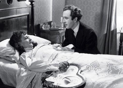 Du wirst doch wohl nicht krank werden? Dennis Price und Valerie Hobson