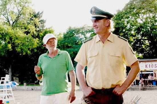 Ratlos: Michael Gwisdek (l.) und Detlev Buck