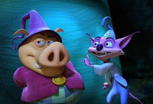 Wirbeln die Märchenwelt durcheinander: Munk und Mambo