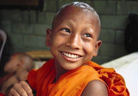 Der junge Nehn Suk hat im Tempel ein neues Zuhause gefunden