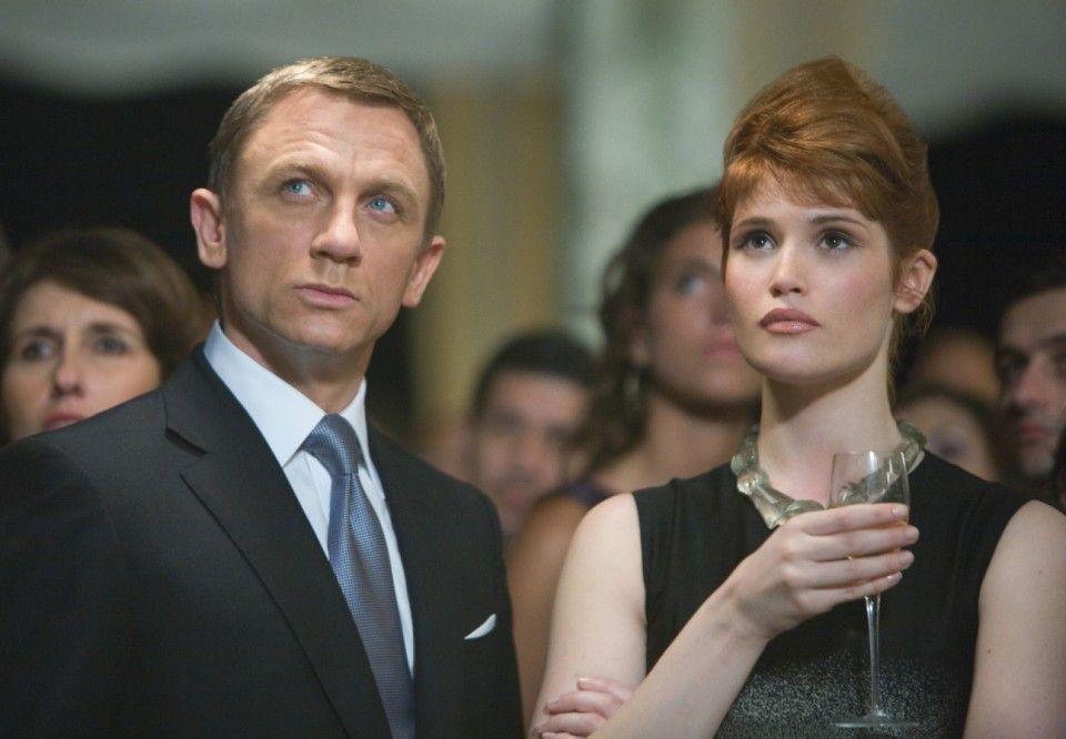 Einmal mehr in netter Begleitung: Daniel Craig und Gemma Arterton