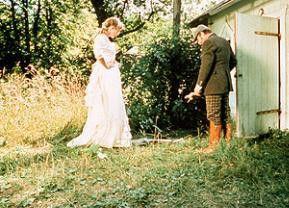 Nina (Vanessa Redgrave) begegnet Trigorin (James Mason)