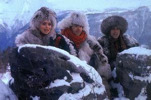 Tiefgefrorene Helden: Donna Dixon, Dan Aykroyd und Chevy Chase (v. l.) in Sibirien
