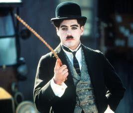 Die Personifizierung Chaplins: Robert Downey jr.