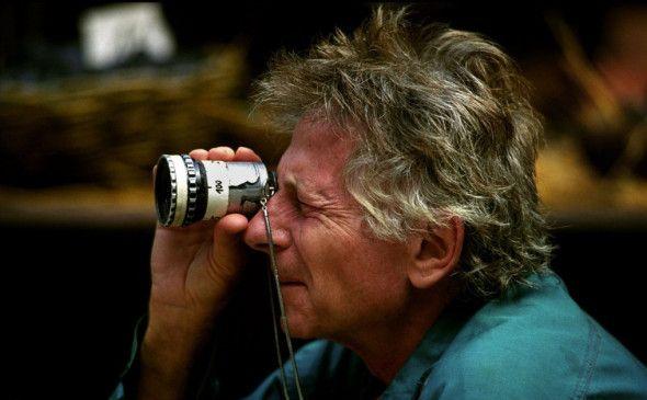 Bei der Arbeit: Roman Polanski