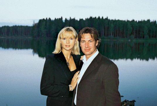 Sind wir nicht ein hübsches Paar? Veronica Ferres und Tobias Moretti