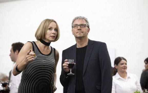 Halbwegs erkennbar: Katja Riemann und Olli Dittrich