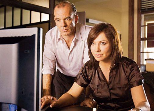 Dem Täter auf der Spur? Martin Wuttke und Simone Thomalla