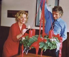 Nicht nur zur Weihnachtszeit - Saskia Vester und Udo Wachtveitl feiern im Herbst Advent