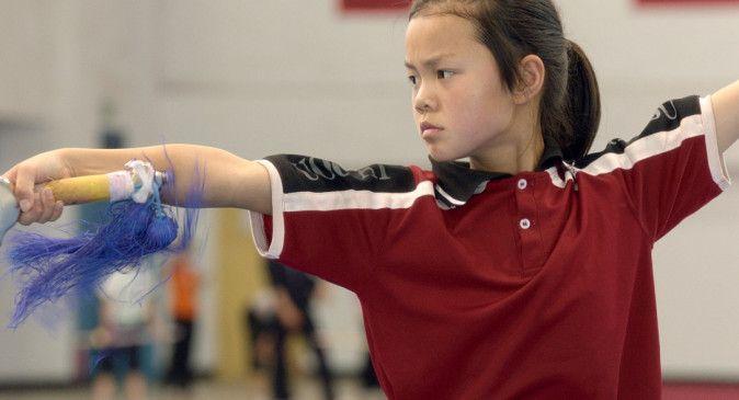 Früh übt sich, wer ein Meister werden will: die neunjährige Xin Chenxi