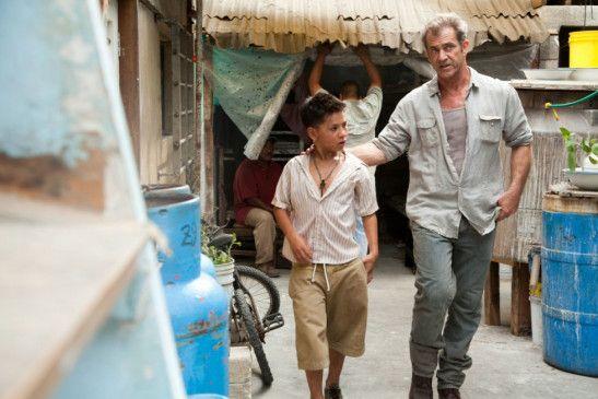Neue Freunde: Mel Gibson und Kevin Hernandez