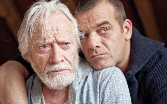 Vater und Sohn: Hernri Garcin und Jeroen Willems (r.)