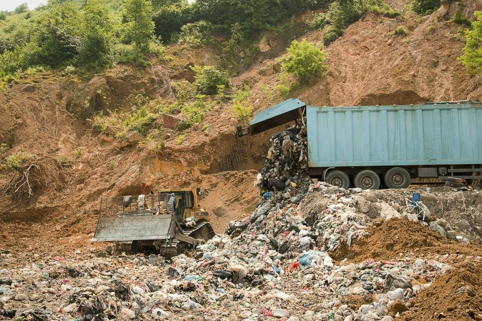Täglich landen weiterhin geschätzte 600 Tonnen Müllen auf der Deponie von Çamburnu