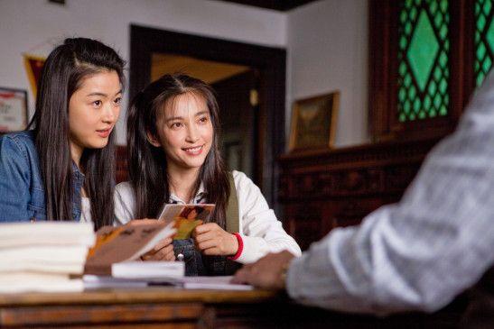 Sophia (Gianna Jun) und Nina (BingBing Li, r.) wollen ihre Freundschaft für die Ewigkeit festigen