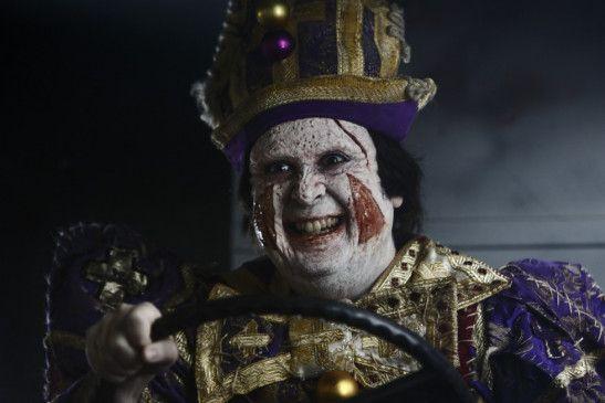 Verrückter und trauriger Clown: Carlos Areces