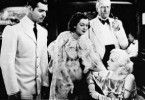 Was ist denn hier los? Clark Gable, Rosalind Russell , Lewis Stone und Jean Harlow (v.l.)