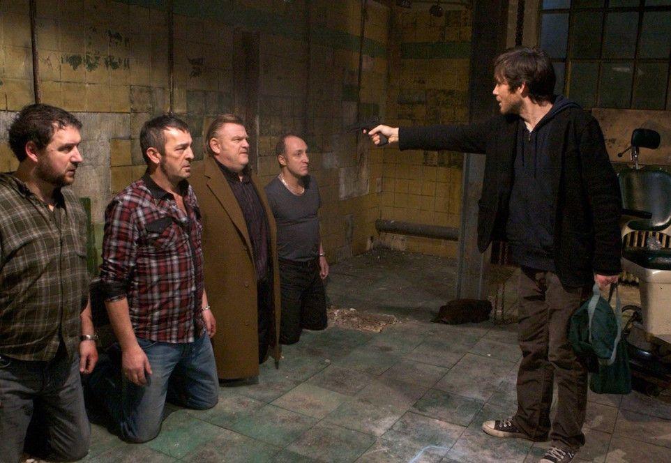 Michael (Cillian Murphy) hält Perrier und seine Jungs in Schach
