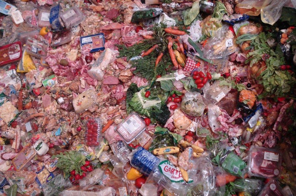 Abfall-Alltag in Deutschland: Lebensmittel im Müll