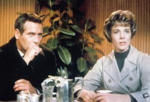 Treffen sich in Berlin: Paul Newman und Julie Andrews