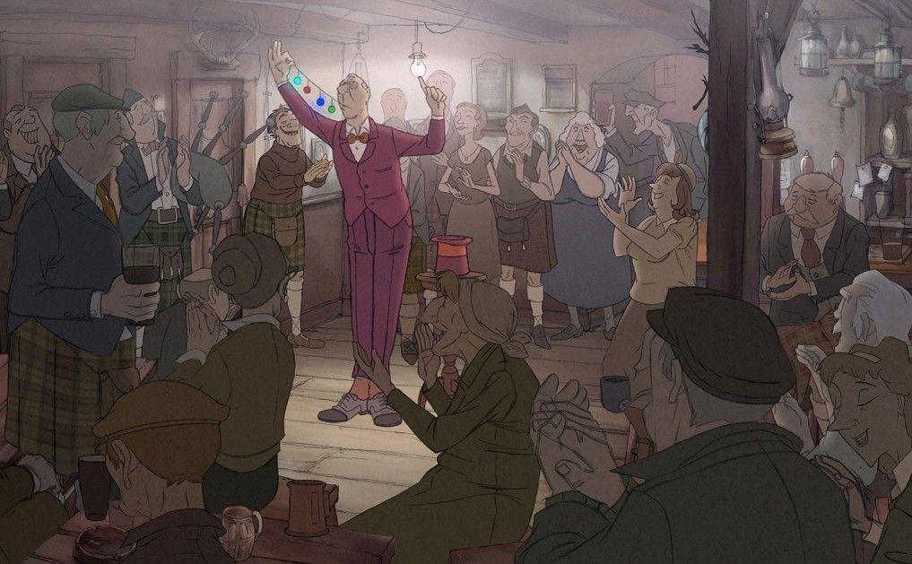 Endlich ein Publikum: Der Illusionist in Schottland