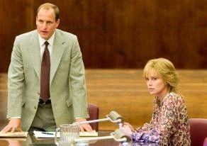 Vor Gericht: Woody Harrelson und Charlize Theron