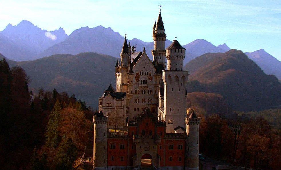 Immer ein Blickfang: Schloss Neuschwanstein