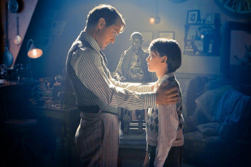 Magischer Moment: Jude Law mit Asa Butterfield