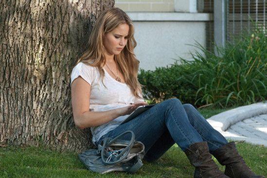 Noch ist alles ruhig: Jennifer Lawrence