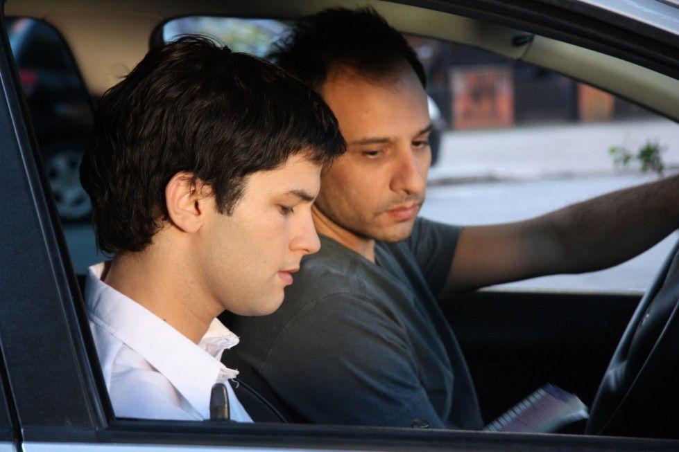Der Schüler und sein Lehrer: Martín (Javier de Pietro) und Sebastián (Carlos Echevarria, r.)