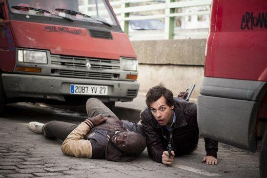 Und wieder ein Fettnäpfchen: Omar Sy (l.) und Laurent Lafitte