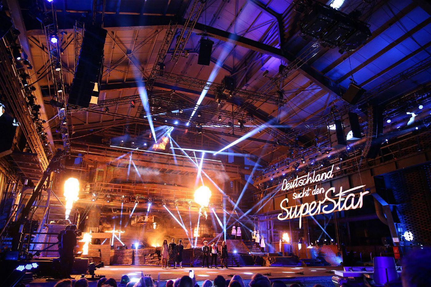 Die dritte Event-Show findet im Landschaftspark Duisburg statt.