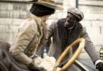 Chocolat (Omar Sy) begegnet Marie (Clothilde Hesme).