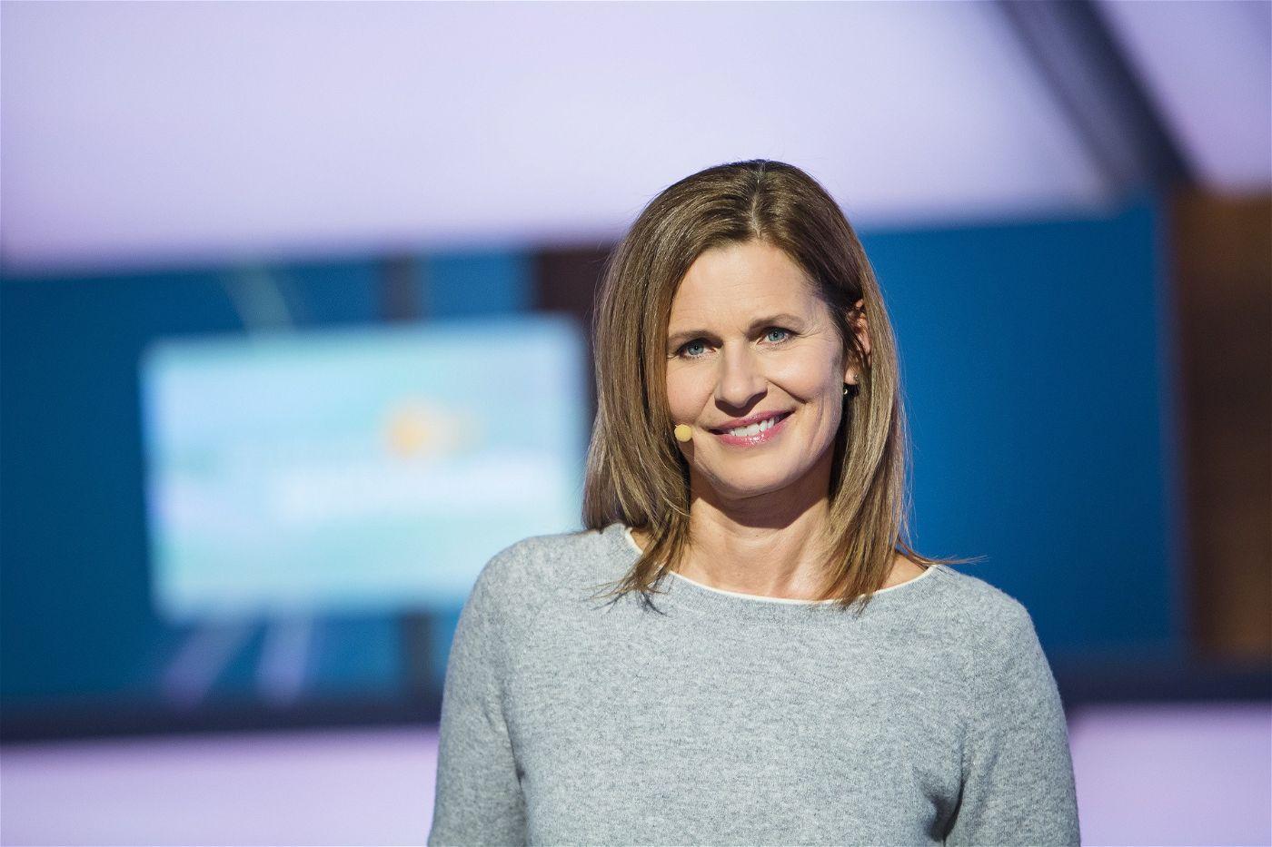 Beim ZDF übernimmt Katrin Müller-Hohenstein diese Aufgabe.