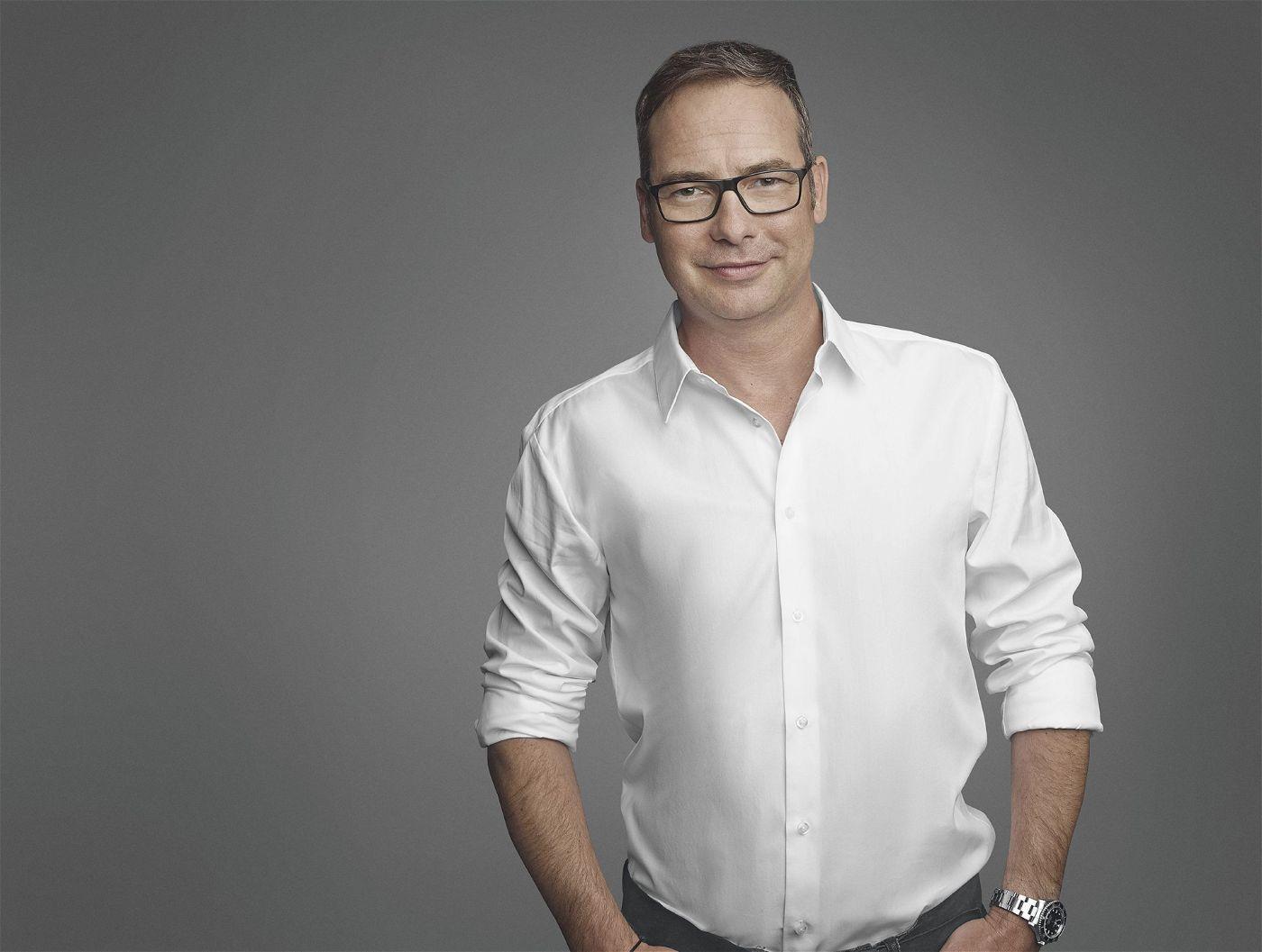 Matthias Opdenhövel ist für die ARD als Moderator bei der EM im Einsatz.