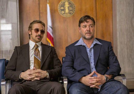 Holland March (Ryan Gosling), ein abgehalfterter Privatdetektiv, und Jackson Healy (Russell Crowe), der als Mann fürs Grobe angeheuert wird, haben nicht viel gemeinsam.