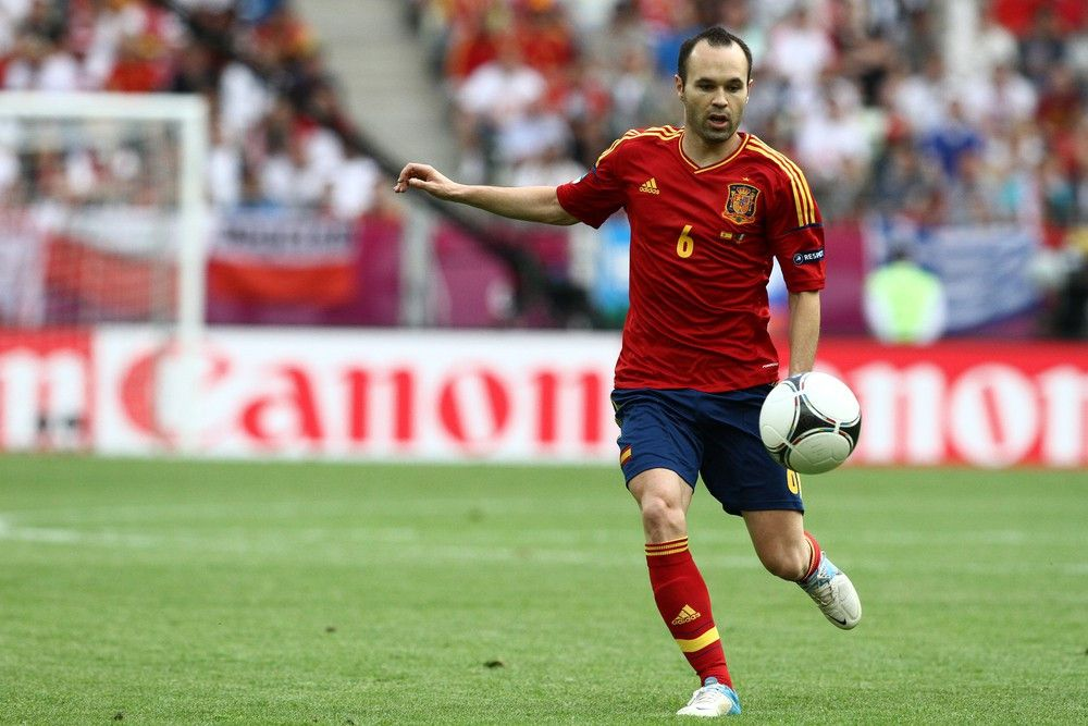 <p><b>Name</b>: Andres Iniesta</p> <p><b>Nationalmannschaft</b>: Spanien</p>