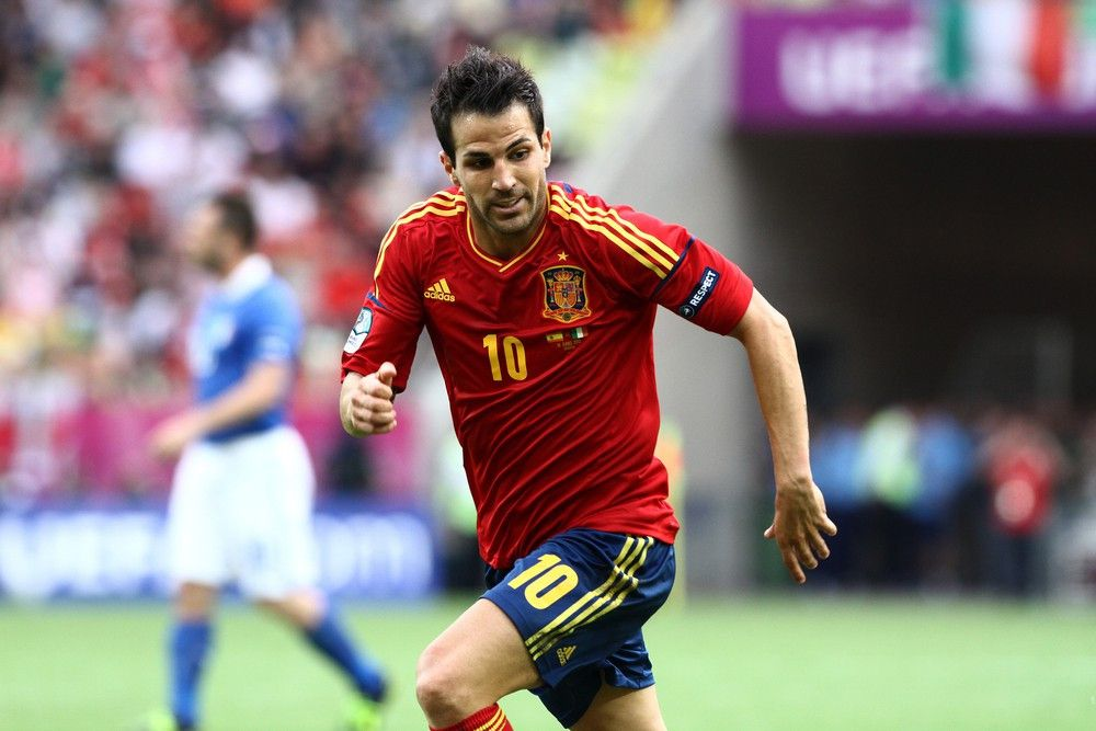 <p><b>Name</b>: Cesc Fabregas</p> <p><b>Nationalmannschaft</b>: Spanien</p>