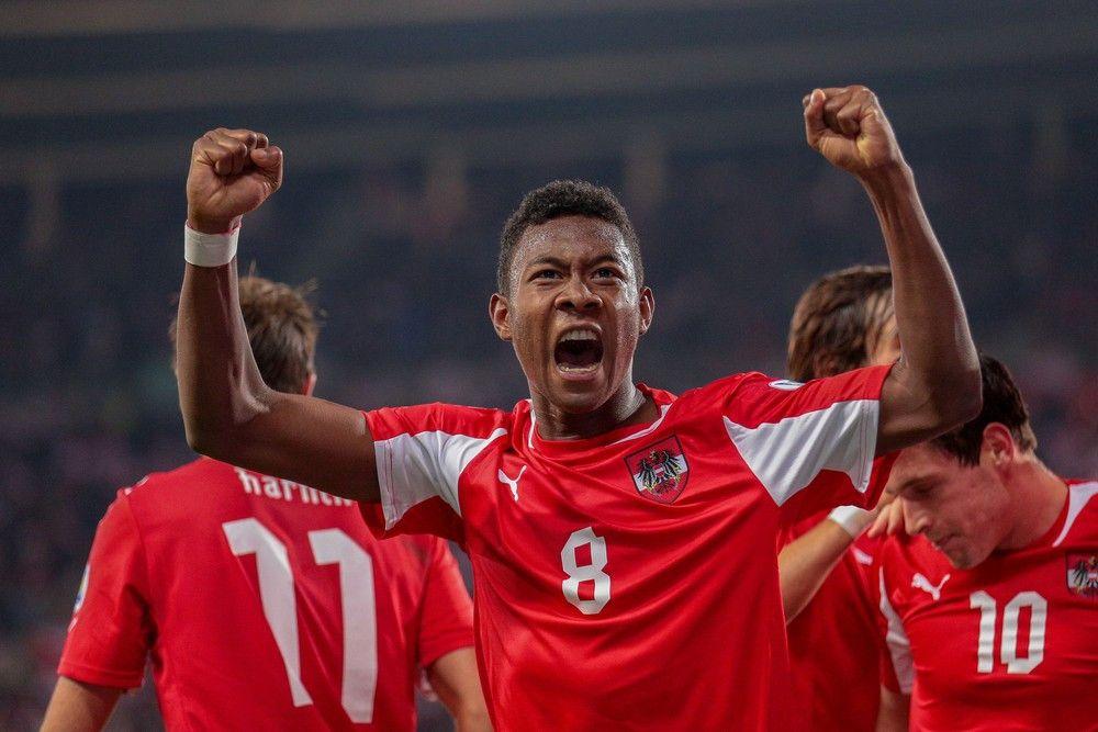 <p><b>Name</b>: David Alaba</p> <p><b>Nationalmannschaft</b>: Österreich</p>