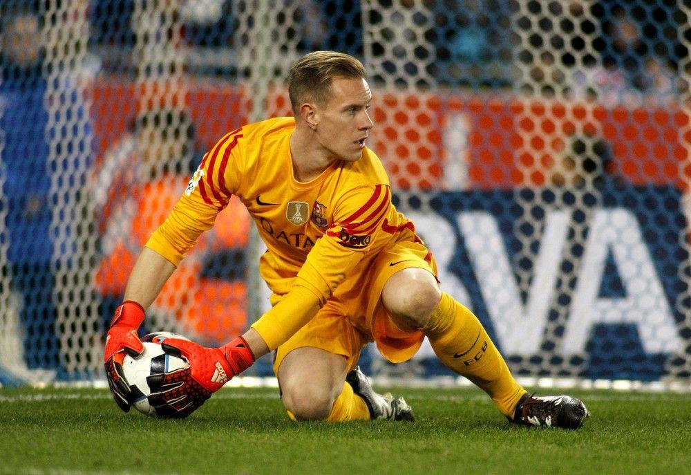 <b>Rückennummer:</b> 22 <br> <b>Position:</b> Tor <br> <b>Name:</b> Marc André ter Stegen <br> <b>Verein:</b> FC Barelonca