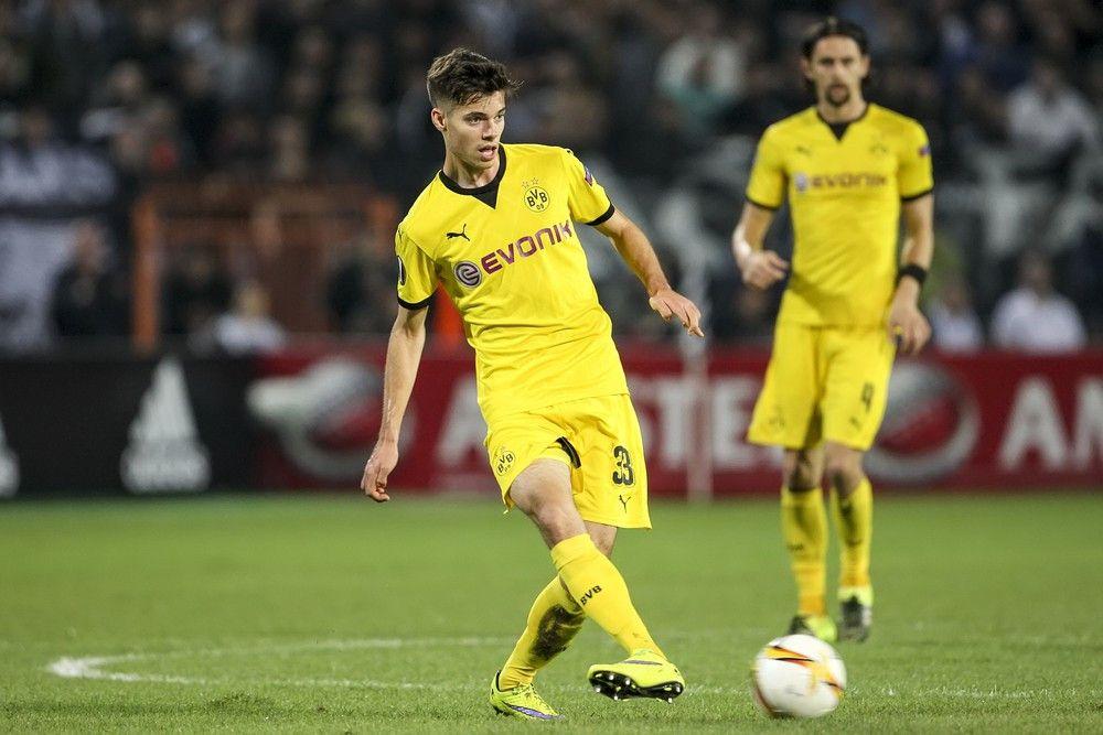 <b>Rückennummer:</b> 15 <br> <b>Position:</b> Mittelfeld <br> <b>Name:</b> Julian Weigl <br> <b>Verein:</b> Borussia Dortmund