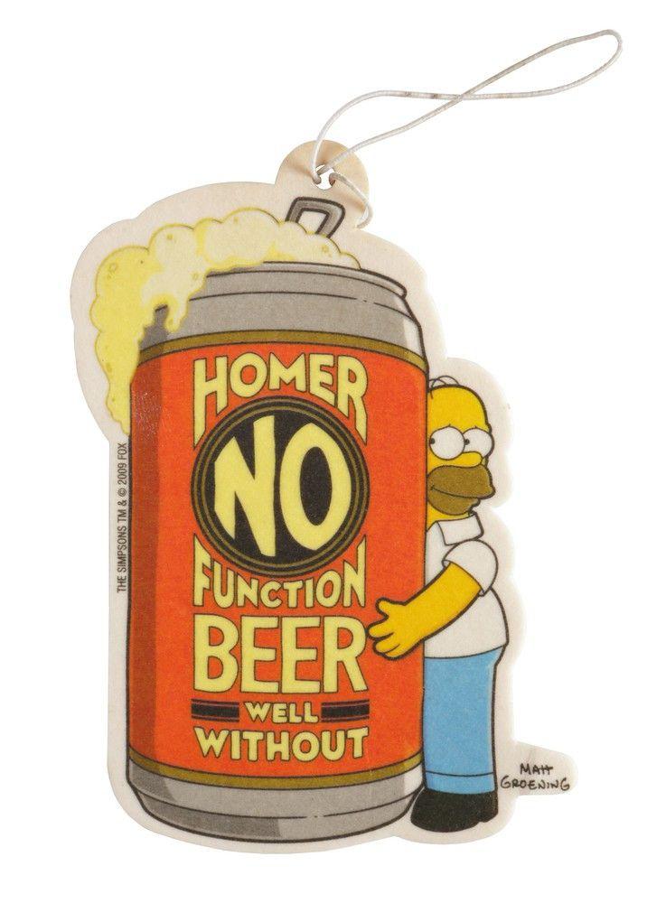 Homer als Lufterfrischer für das Auto - der hoffentlich nicht nach Bier riecht...